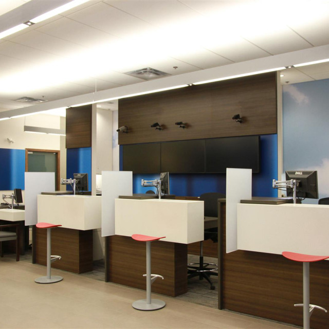 Bank Of Montreal Aodbt Architecture Interior Design
