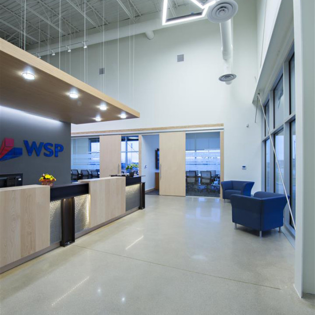 Wsp office building aodbt architecture interior design for Office design cardiff