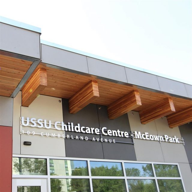 USSU Childcare Centre – McEown Location
