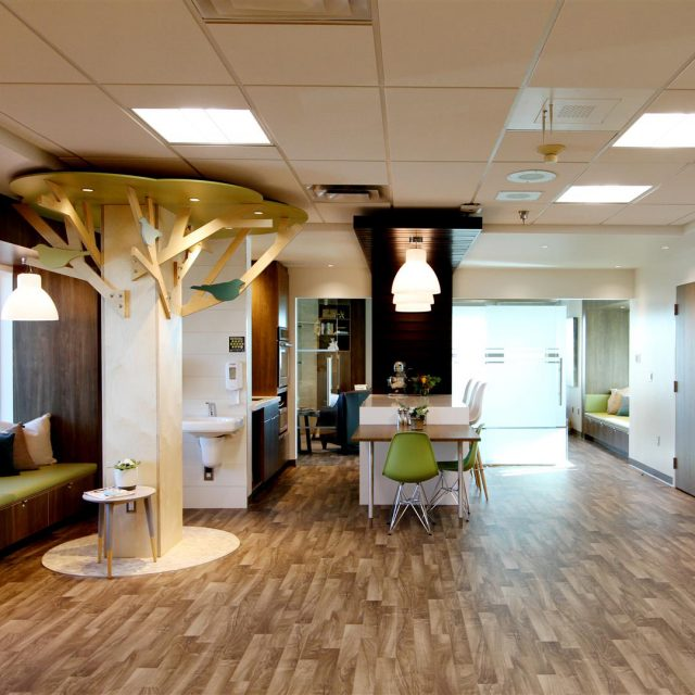 Ronald McDonald House Family Room at Victoria Hospital